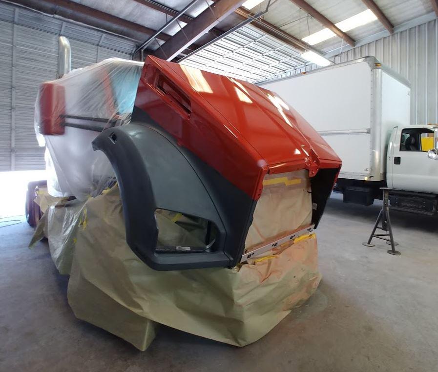 Semi Truck Paint