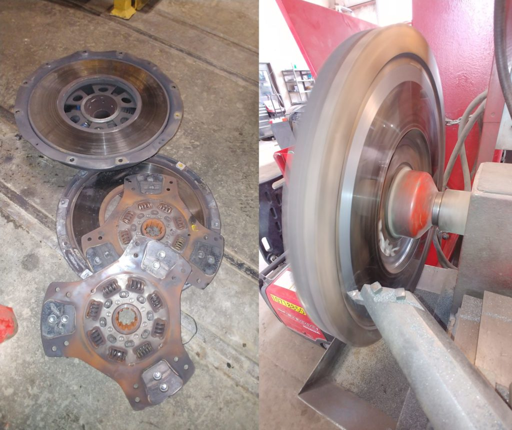 Engine Clutch Flywheel